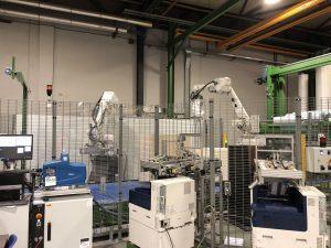 Pyroll Winschoten robotti etikettirobotti arkinlaskentarobotti